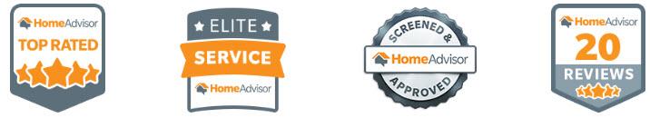 Home Advisor top rated garage door company